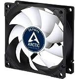 ARCTIC F8 PWM - 80 mm PWM Case Fan, PWM-Signal regulates Fan Speed, Quiet Motor, Computer, Fan Speed: 300-2000 RPM - Black, W