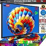 "TEAC 49"" Inch FHD Smart TV Netflix YouTube WiFi PVR APPS Opera Made Europe 3 Year Warranty"