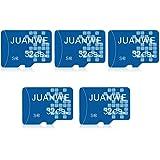 JUANWE 5 Pack 32GB Micro SD Card, Memory Card 32GB C10 TF Card (5 Pack)