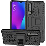 Olixar Protective Case for Huawei P30 - Shockproof Drop Protection Dual Layer with Kickstand - Tough Armour Cover Cases - Hea
