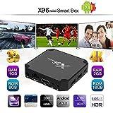 X96ミニアムロジック Amlogic S905W クワッドコア WIFI HDMIブラック 4K * 2K Android 7.1.2テレビ 包装付く 1GBメモリ+ 8GBフラッシュ