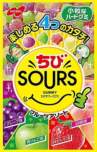 ちびSOURS フルーツアソート 6個
