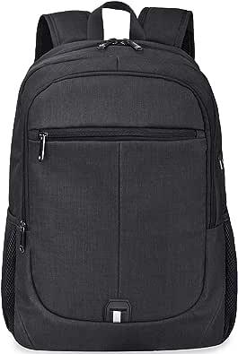 NUBILY リュック メンズ 大容量 リュックサック ラップトップ 通学 バックパック 軽量 黒 ビジネスリュック 通勤 出張 丈夫 USBポート グレー 30L 旅行