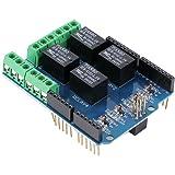 HiLetgo Relay Shield 5V 4 Channel Arduino UNO R3 Relay Shield Arduino Shield