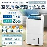 アイリスオーヤマ 除湿空気清浄機 花粉 PM2.5 除去 DCE-120
