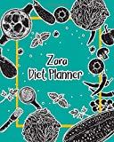 Zara Diet Planner: 99 Weeks Meal Planner Pages 8x10 inches for Diet, Weight Loss, Keto,Low Crab, Calories Program with Your name on Matte Cover