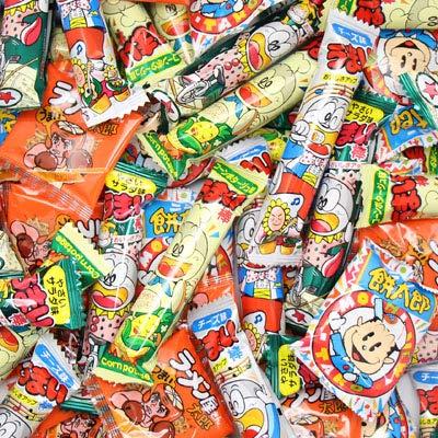 おかしのマーチ 人気の駄菓子5種詰め合わせ(75コ)セット