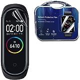 [2枚セット] Garmin Vivosmart 4 フィルム Garmin Vivosmart 4 ガラスフィルム 腕時計 専用 強化ガラスフィルム 99% 透過率 フィルム 硬度9H 超薄0.26mm 指の滑りも良く 簡単に剥がれ 擦り傷対策 指