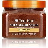 Tree Hut Shea Sugar Scrub Brazilian Nut, 18oz, Ultra Hydrating and Exfoliating Scrub for Nourishing Essential Body Care (Pack