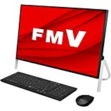 【公式】 富士通 デスクトップパソコン FMV ESPRIMO FHシリーズ WF1/D3 (Windows 10 Home/23.8型ワイド液晶/Core i7/8GBメモリ/約1TB HDD/スーパーマルチドライブ/Office Home and Business 2019/ブラック)AZ_WF1D3_Z263/富士通WEB MART専用モデル