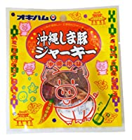 オキハム 沖縄しま豚ジャーキー 12g×5袋
