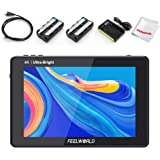 FEELWORLD LUT7 7 Inch 2200nit Daylight Viewable Touch Screen DSLR Camera Video Field Monitor, 3D Lut 1920x1200 with 4K HDMI 1