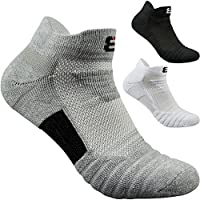 Mens Socks 3 Packs Non-slid Ankle Cotton High Grade Dress Sport Socks 4 Seasons