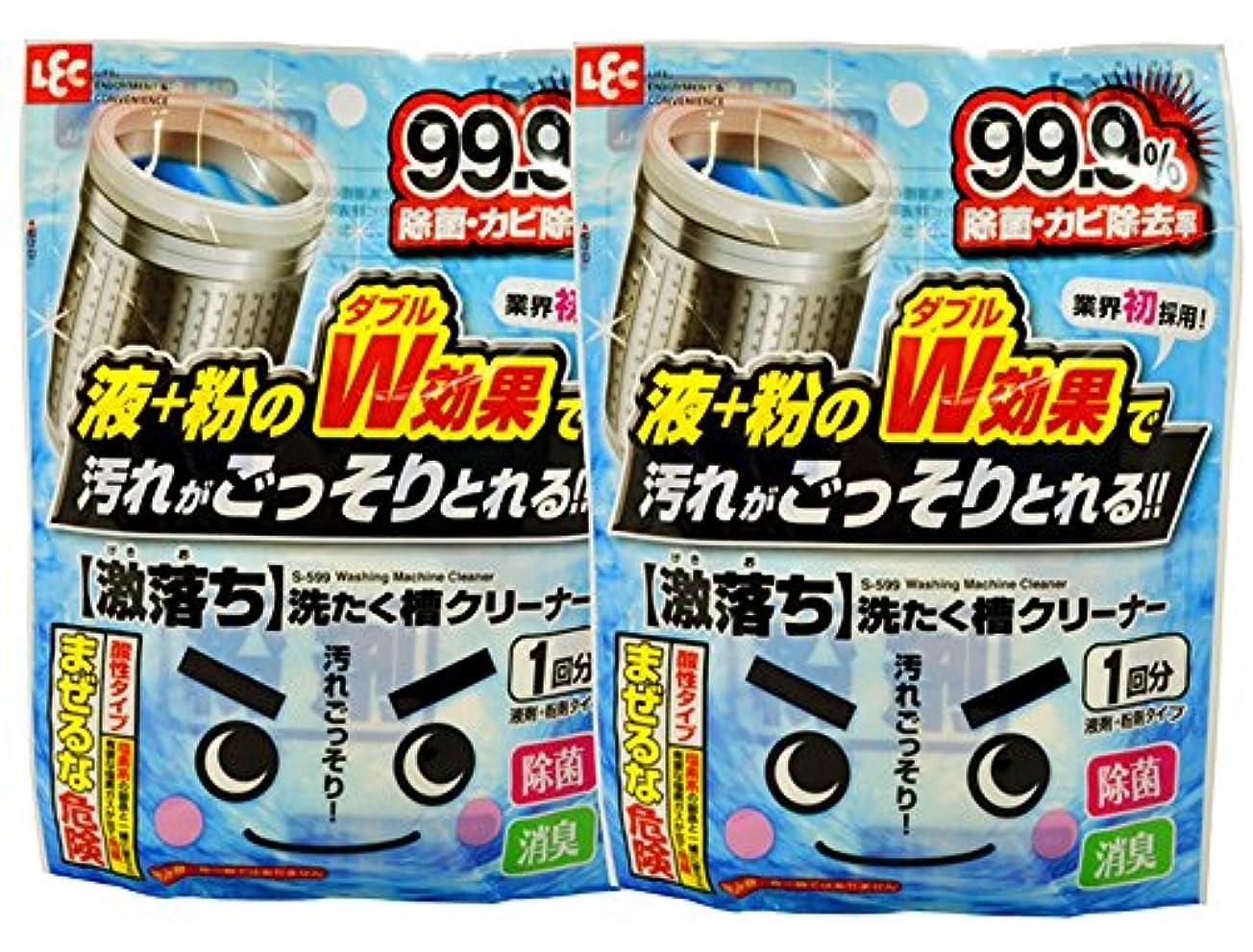 踊り子エキスパート封筒激落ち 洗濯槽クリーナー 2個セット S599