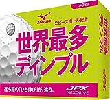 MIZUNO(ミズノ) ゴルフボール JPX ネクスドライブ ユニセックス 5NJBM72520 ホワイト×ピンク 1ダース