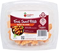 Modern Mum Ready-To-Cook Fresh Cut Sweet Potato, 350g