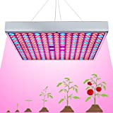 LED Grow Light for Indoor Plants Growing Lamp 225 LEDs 45W UV IR Red Blue Full Spectrum Plant Lights Bulb Panel for Hydroponi