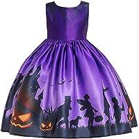 ハロウィン 衣装 子供ドレス カボチャ 魔女 仮装 コスプレ 可愛い コスチューム ワンピース ハロウィンパーティードレ…