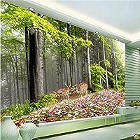 Wuyyii カスタムウォールノルウェーワンダーランドHd寝室のリビングルームテレビの背景壁紙壁用リビングルーム - 120×100センチ