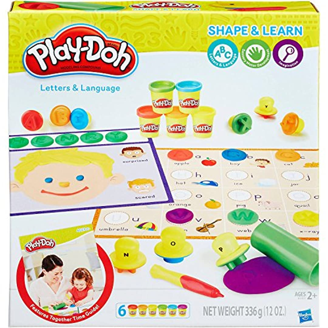 Play-Doh 遊びと学習セット 形状 30 + ピースセット
