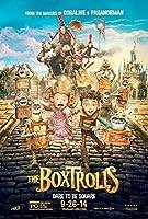 The Boxtrolls映画ポスター27x 40スタイルB 2014Unframed