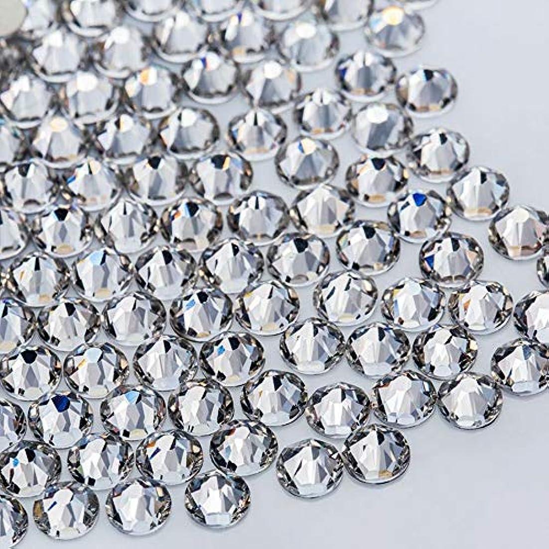 適応的八百屋野望WTX ガラス製 ラインストーン 高品質 1440粒 SS4~SS30 ネイル デコ クリスタル (SS16(約3.8-4.0mm), クリスタル)