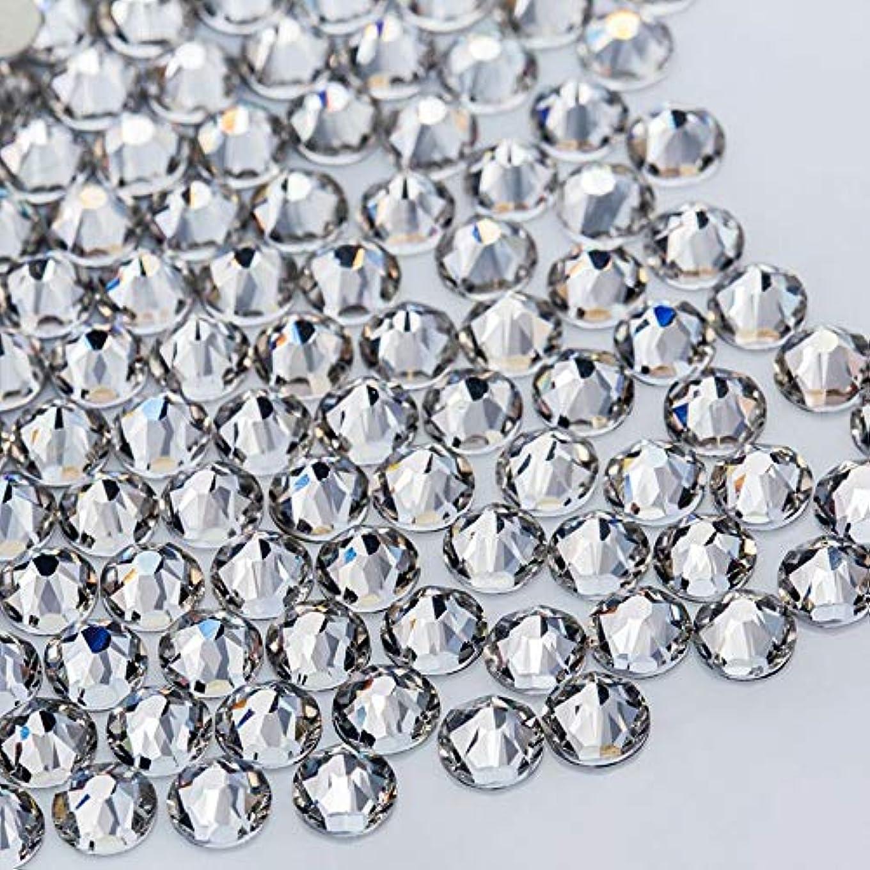 振る舞う個人的な等価WTX ガラス製 ラインストーン 高品質 1440粒 SS4~SS30 ネイル デコ クリスタル (SS20(約4.6-4.8mm), クリスタル)