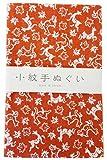 宮本 小紋手ぬぐい 鹿紅葉 33×90cm 33461