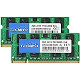 テクミヨノートPC用 メモリ1.8V PC2-6400 (DDR2 800) 2GB×2枚 200Pin CL6 Non…