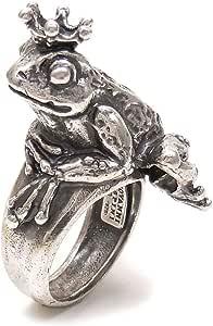 [ジョバンニ・ラスピーニ] GIOVANNI RASPINI リング レディース メンズ シルバー925 カエルの王様 15号 7550 インポート