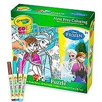 Crayola Disney Frozen色Wonderパズルセット( Messフリーカラーリングセット) (パズル(ボックスセット) ) Puzzle (Box Set) Frozen Color Wonder