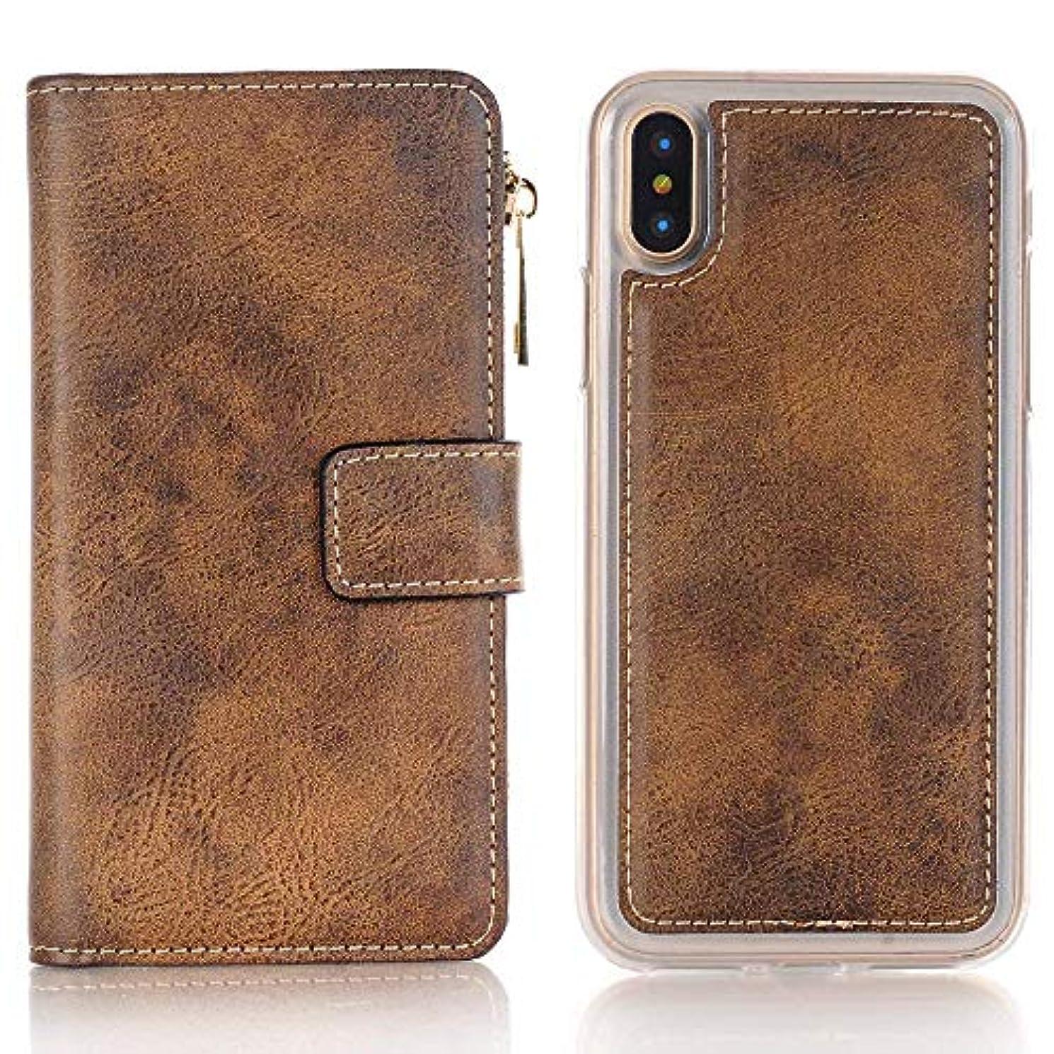 したい懐疑論胸iPhone ケース 手帳型 INorton 全面保護カバー 耐衝撃 レンズ保護 カード収納 分離式 高品質レザー シリコン 軽量 マグネット式