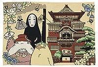 丸眞 ランチョンマット ジブリ 千と千尋の神隠し H33×W48cm 訪れる神々 ゴブラン織り 1165024900