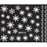 ネイルシール 雪の結晶 選べる24種類 (Sa-11)