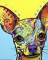 (8 x 10 Art Print) - Chihuahua I by Dean Russo Art Print, 20cm x 25cm