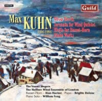 Kuhn: Missa Brevis, Serenata Notturno, Elegie, Motet: Der Mensch lebt..., Five Piano Pieces and Variations on a Melody from the Canary Islands (2000-01-13)