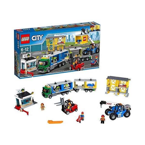 レゴ(LEGO)シティ レゴ(R)シティ配送セン...の商品画像