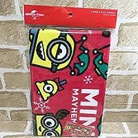 USJ ミニオン ロング フェイスタオル 185円 クリスマス ボブ スチュアート ア