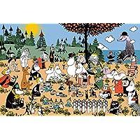 1000ピース ジグソーパズル ムーミン谷の素敵な仲間(50x75cm)