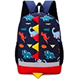 Bansusu 3D Dinosaur Pattern Toddler Girls Boys Small Backpack Preschool Bookbag Mini Casual Daypack