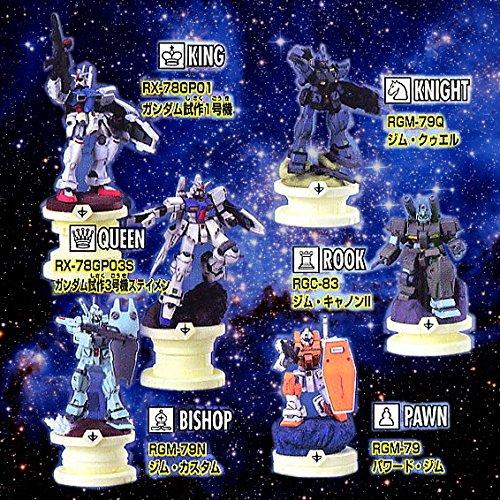 チェスピースコレクションDX 機動戦士ガンダム0083 STARDUST MEMORY ガンダム、星の海へ編 BOX