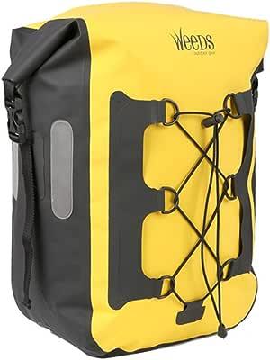 WEEDS 防水性抜群 パニアバッグ リアサイドバッグ 20L 自転車用 バック