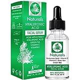 Hyaluronic Acid Serum-Anti Aging-Best Hyaluronic Acid Serum for Skin-Pure Natural-No.1 Serum for Face