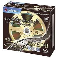 Verbatim 録画用25GB 1-4倍速対応 BD-R追記型 ブルーレイディスク 10枚入り VBR130YC10V1
