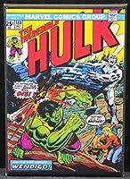 The Incredible Hulk # 180コミックブックカバー冷蔵庫マグネット。
