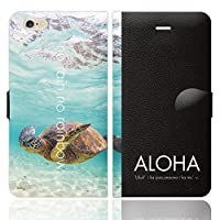 iPhone6S iPhone6 手帳型 ケース カバー ハワイアンモデル 3-S ブレインズ HAWAII ハワイ ALOHA アロハ ハワイアン 海
