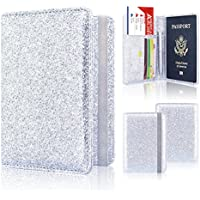 Passport Holder Cover, ACdream Travel Leather RFID Blocking Case Wallet for Passport with Elastic Band Closure,