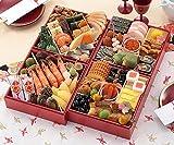 (12月30日着)京菜味のむら おせち「雅」四段重 45品