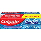Colgate Max Fresh Cool Mint Toothpaste Valuepack 160g x2