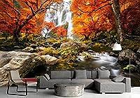 壁のための3D写真の壁紙壁のための3 Dの居間のベッドルームの背景の壁紙3 D カスタマイズサイズ シルク生地 Wapel 200X130Cm(78.74X51.18 In)